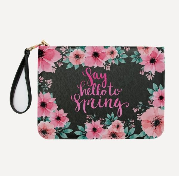 Say Hello To Spring Clutch