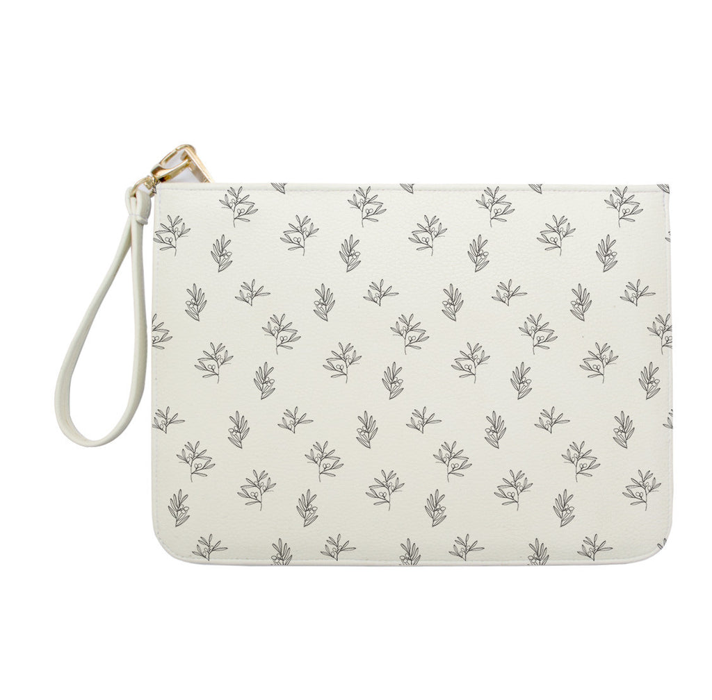 Mini Flowers Clutch