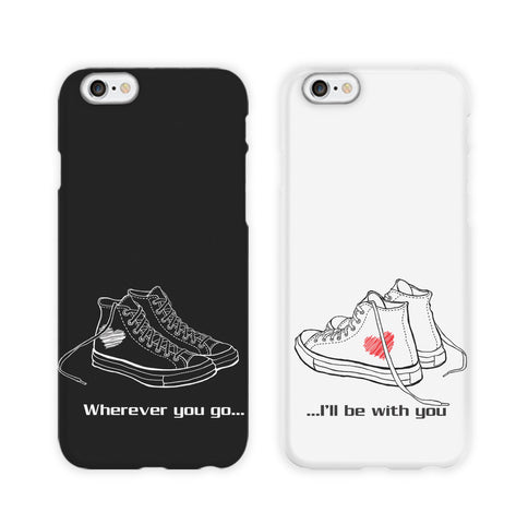 His & Hers Arrows Couple Phone Cases