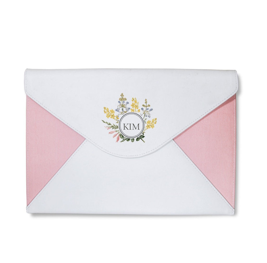 Mini Flowers Envelope Clutch