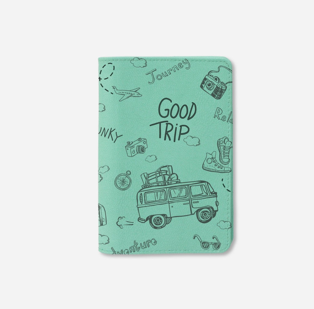 Good Trip Personalizable Passport Holder