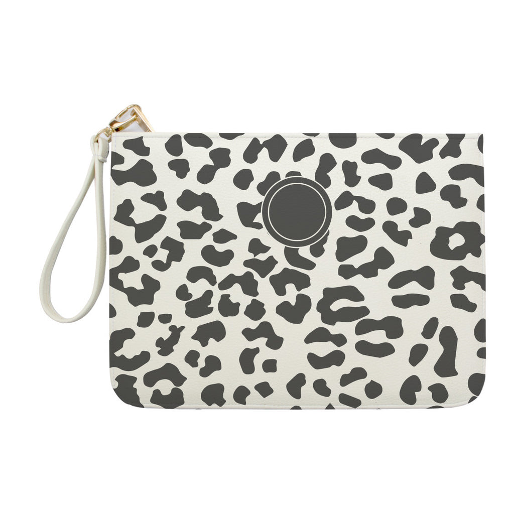 Leopard Pattern Clutch