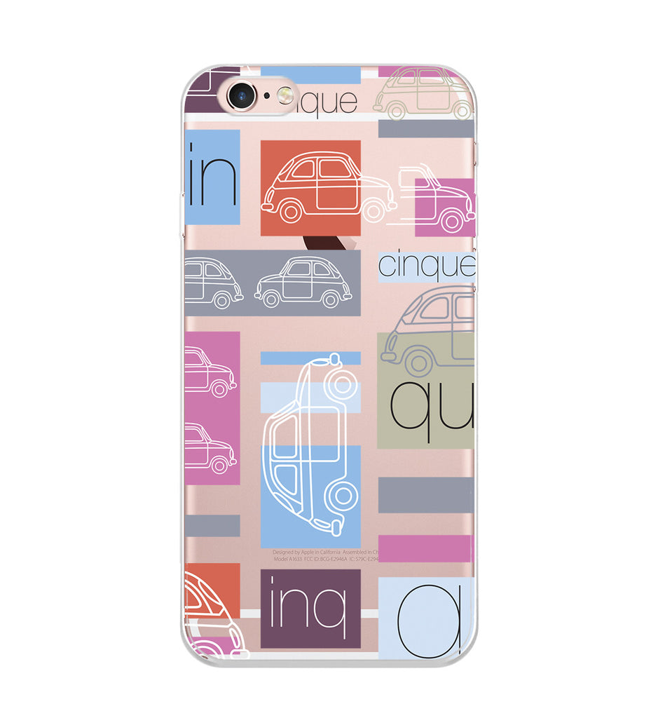 Colorful Cars Cartoon Phone Case
