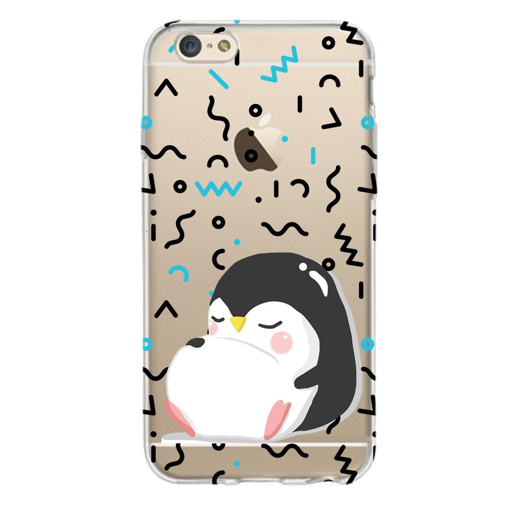 Sleepy Penguin Phone Case