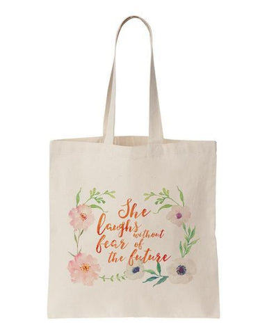 Through Leaf Veins Tote Bag