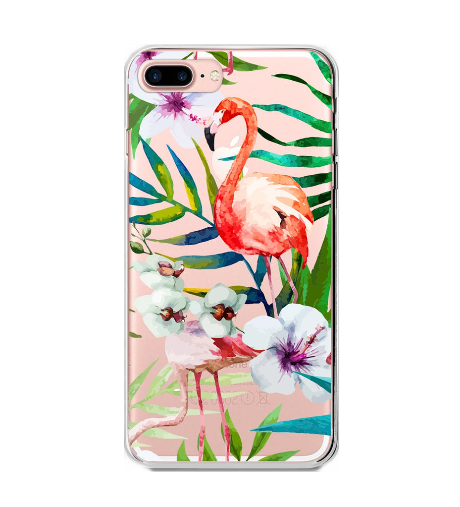 Flamingo Forest Phone Case