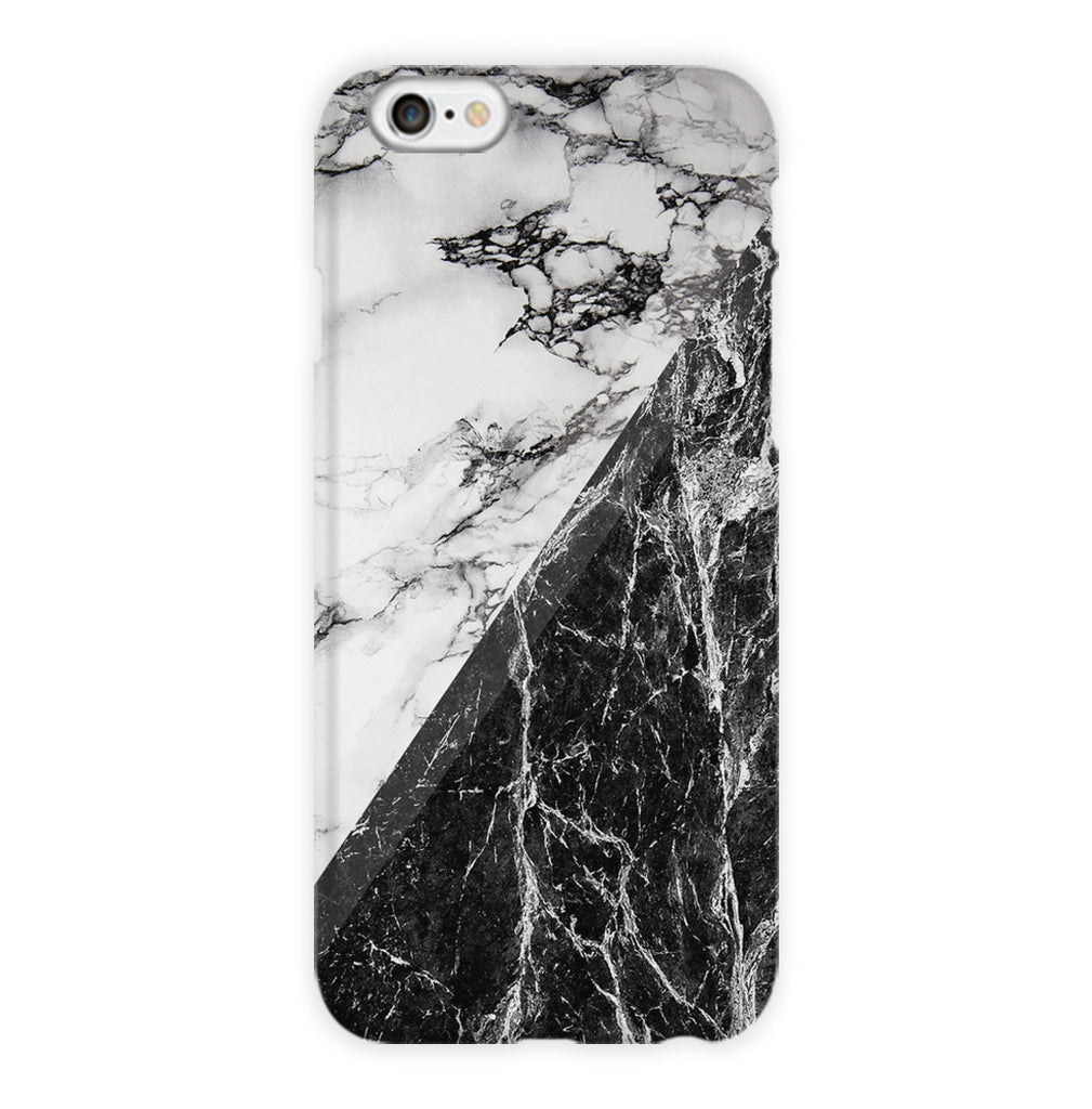 White & Black Marble Phone Case