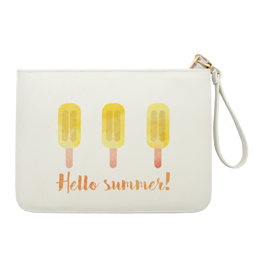 Hello Summer Ice Cream Clutch