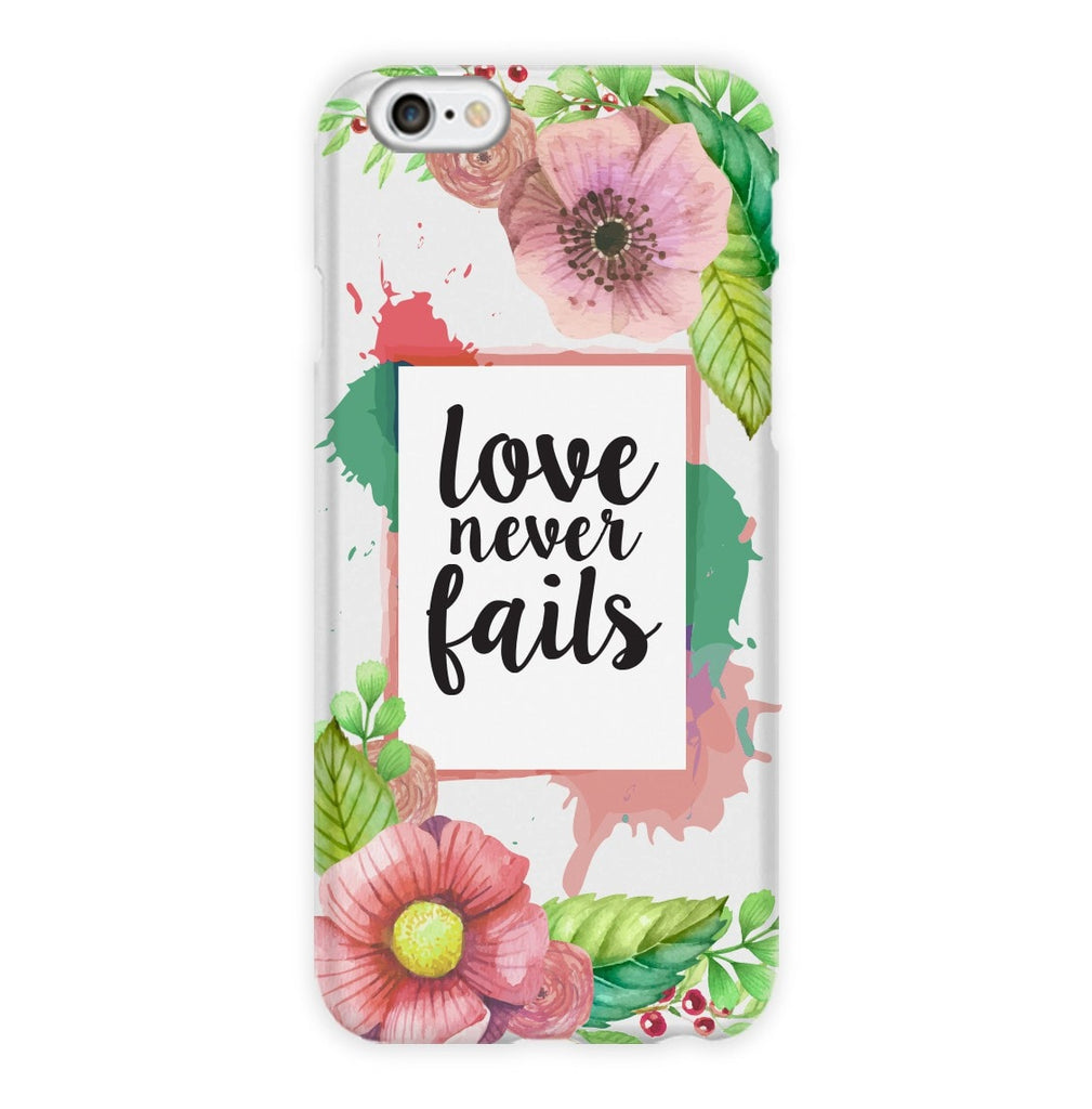 Love Never Fails Phone Case