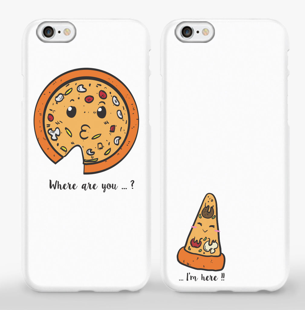 Pizza Couple Phone Cases