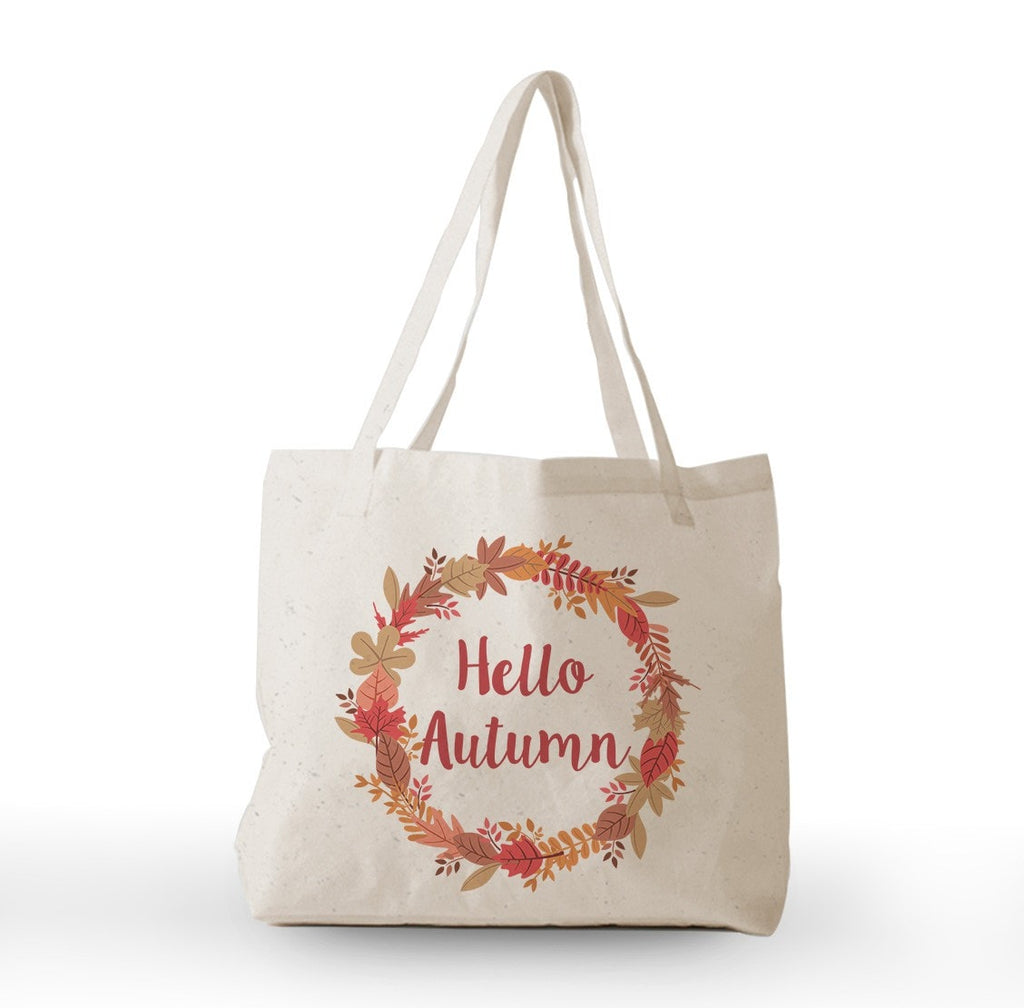Hello Autumn Tote Bag