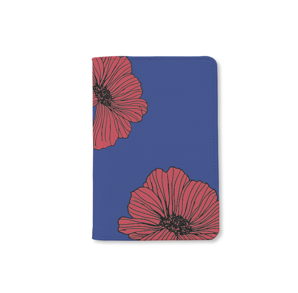 Eternity Flowers Personalizable Passport Holder Bisu Bisu