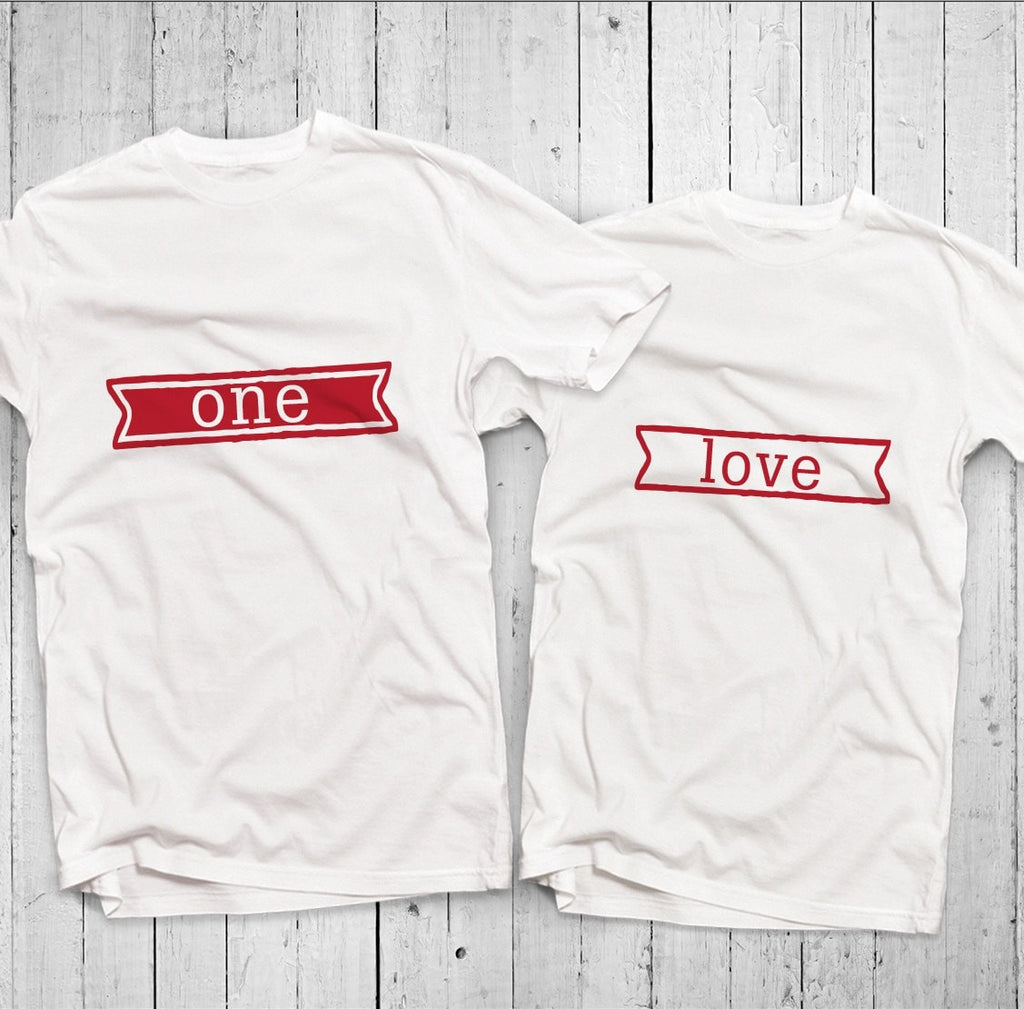 One Love Couple T-Shirt
