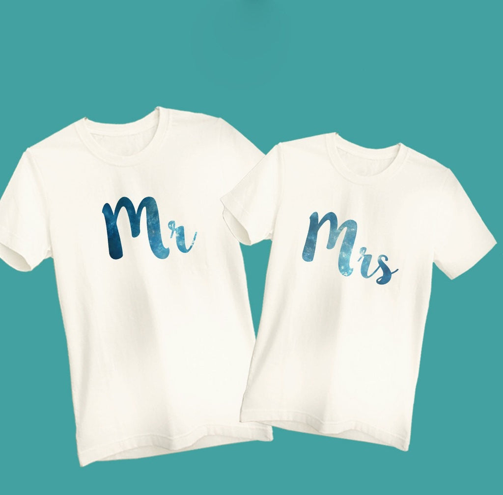 Mr & Mrs Couple T-Shirt