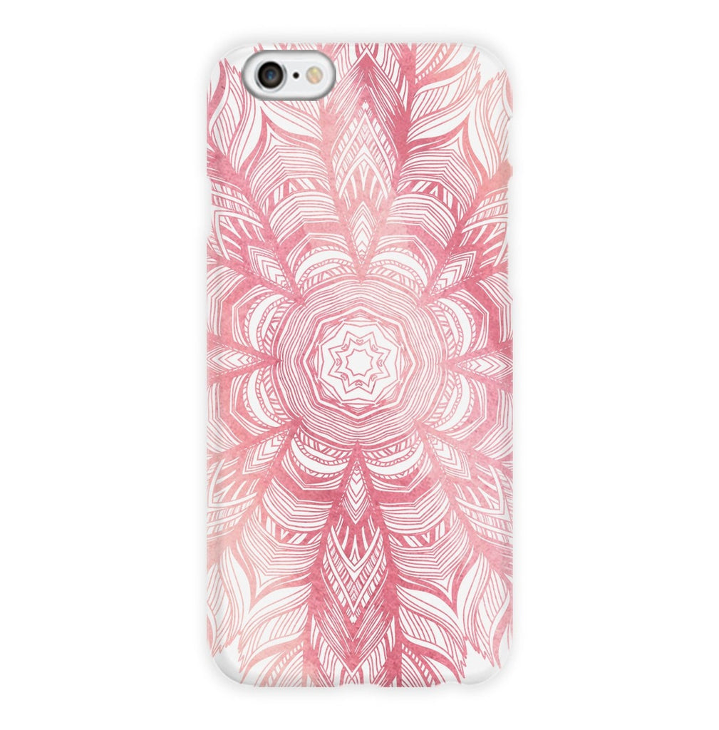 Pink Mandala Phone Case