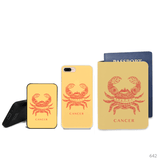 Cancer Symbol Combo Passport Holder, Power Bank and Phone case