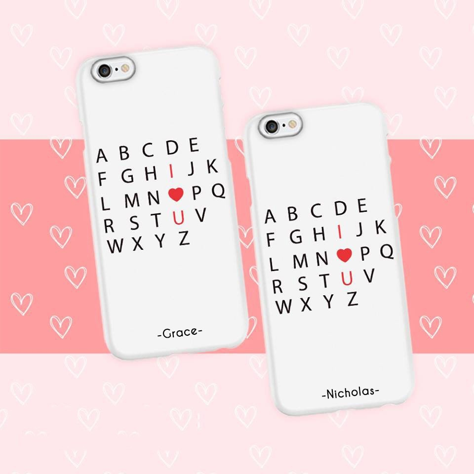 I Love You Couple Phone Cases
