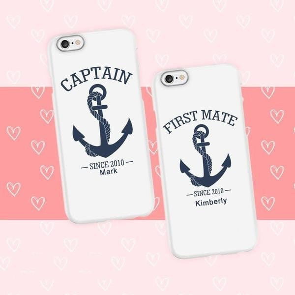 Anchor Couple Phone Cases