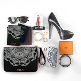 The Magical World Combo Personalizable Passport Holder, Clutch and Phone case