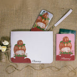 Winter Girl Combo Passport Holder, Clutch and Phone case