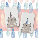 Friend Forever Couple Passport Holders