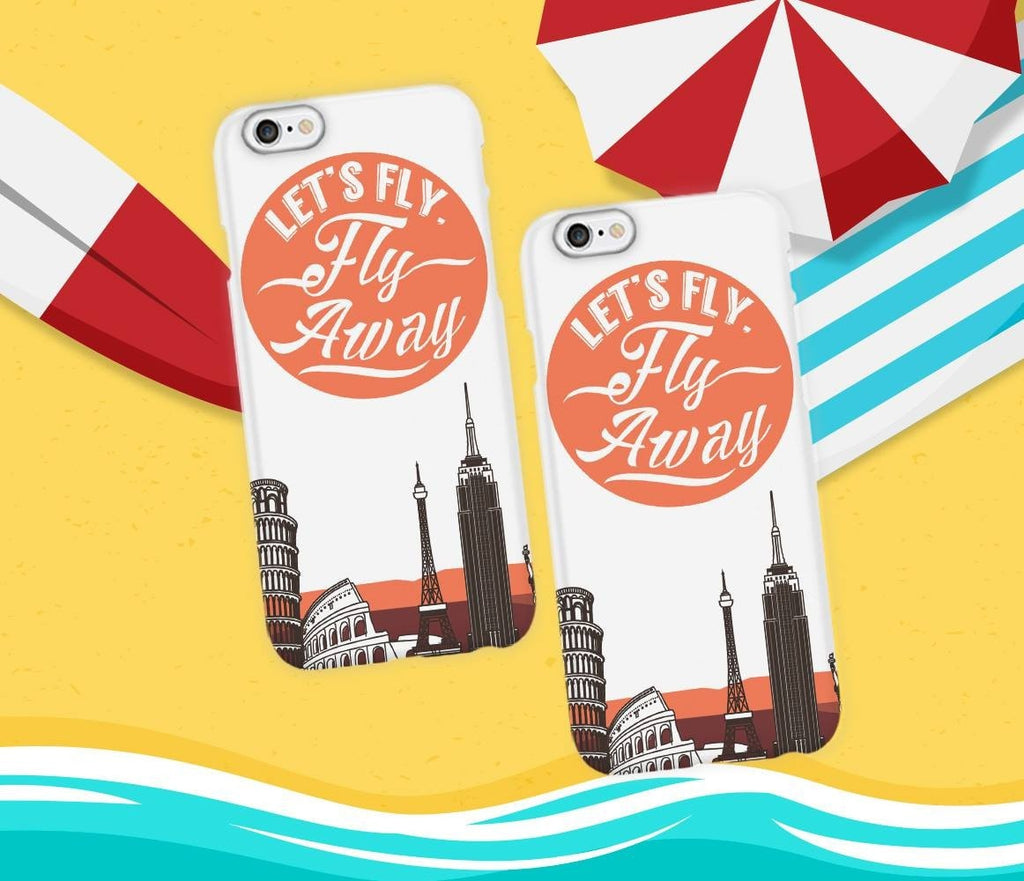 Let's Fly Away Phone Cases