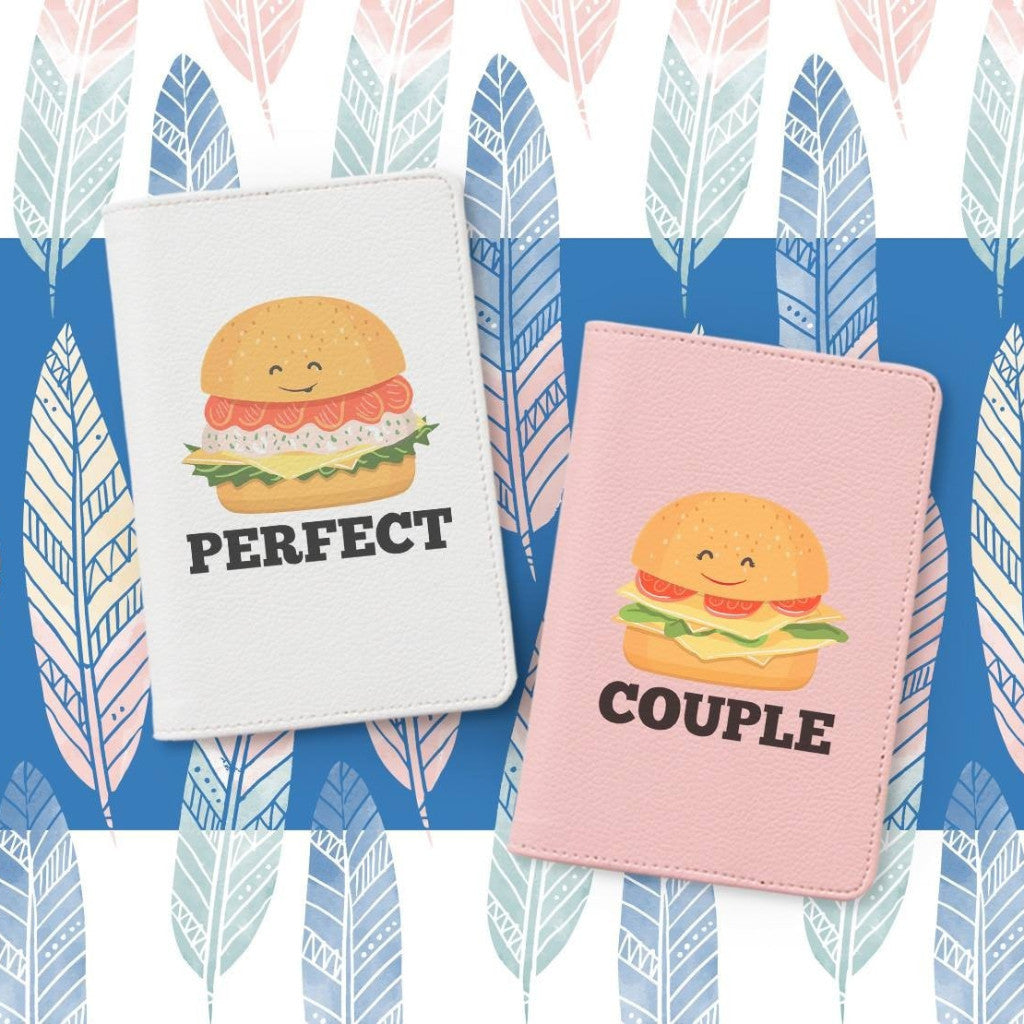 Hamburger Couple Passport Holders