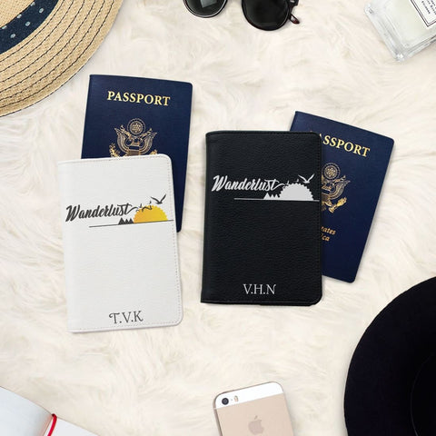 It's a Huge World Couple Personalizable Passport Holders