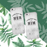 Only You Couple Phone Cases