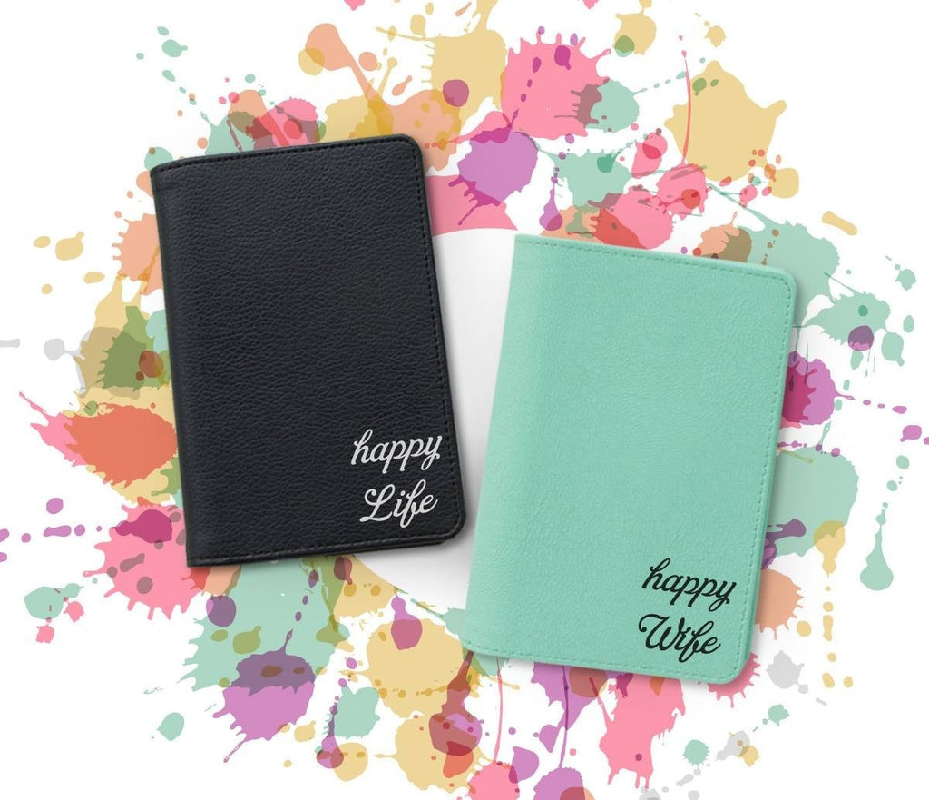 Happy Life Couple Wallets