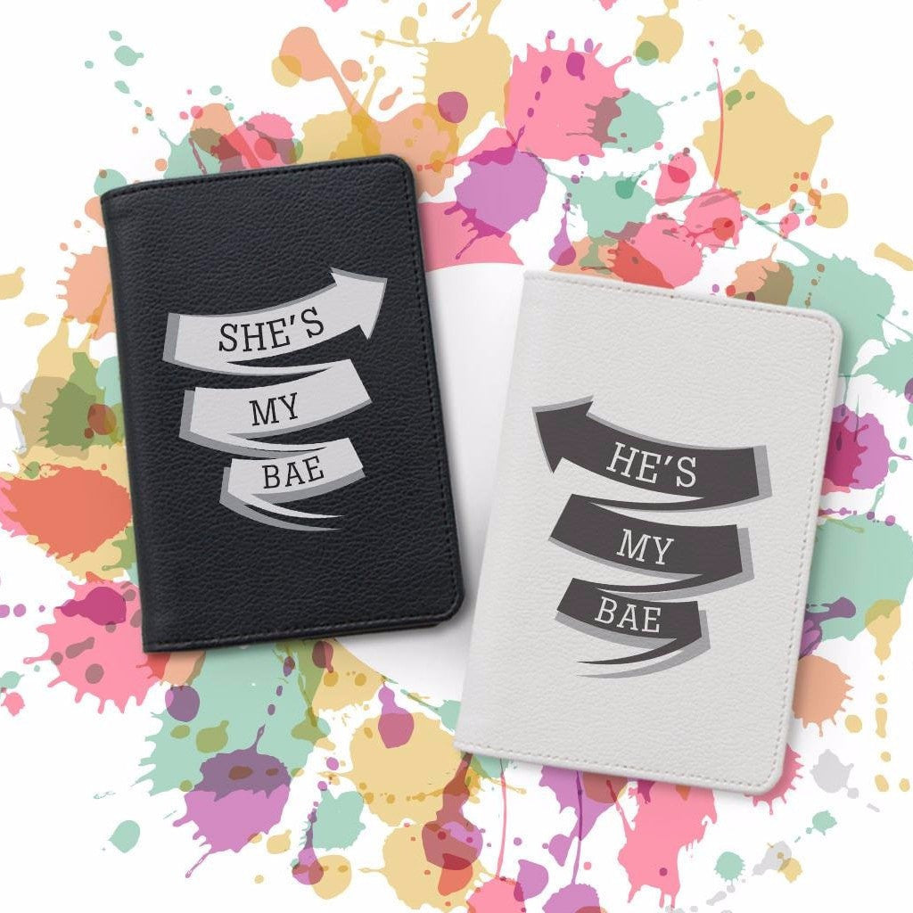 You're My Bae Couple Wallets