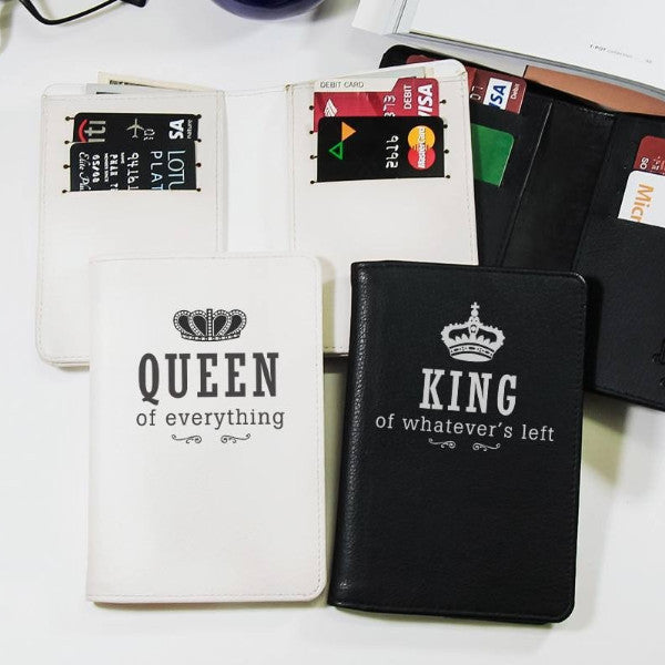 King And Queen Couple Wallets