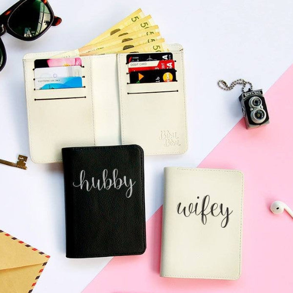 Hubby Couple Wallets