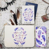 Wild & free Combo Passport Holder, Clutch and Phone case
