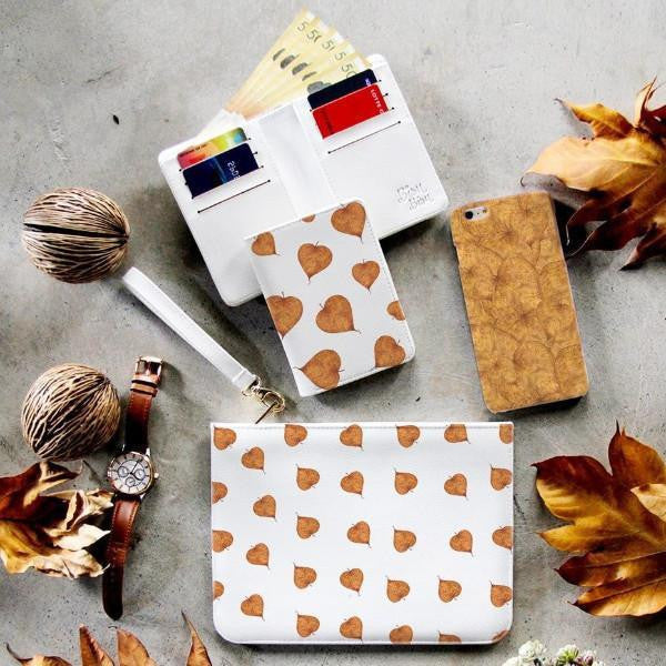 Fall Leaf Combo Wallet , Clutch and Phone case