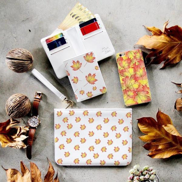 Fall Season Combo Wallet , Clutch and Phone case