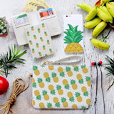 Pinapple Pinapple Combo Wallet , Clutch and Phone case