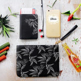 Branches Sketch Combo Passport Holder, Clutch and Phone case