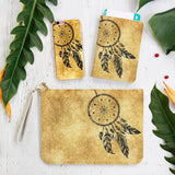 Vintage Dream Catcher Combo Personalizable Passport Holder, Clutch and Phone case