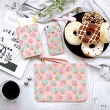 Cupcakes Combo Passport Holder, Clutch and Phone case