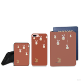 Rabbit Wonderland Combo Personalizable Passport Holder, Power Bank and Phone case