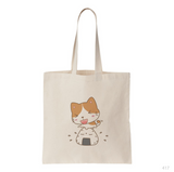 Cat & Sushi Tote Bag
