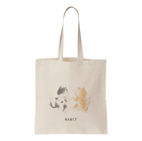 Cat City Couple Kitty Tote Bag