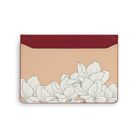 White Rose Card Holder