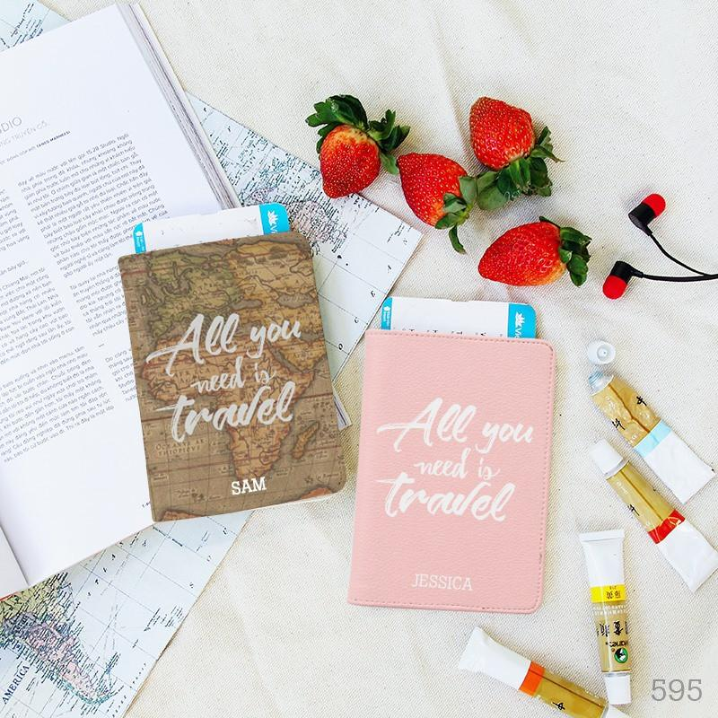 All you need is Travel Couple Passport Holders
