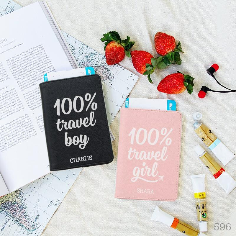 100% Travel Couple Passport Holders
