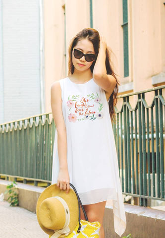 Bloom Where You Are Planted Shift Dress