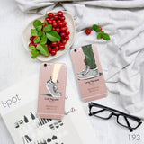 Grey Sneakers Couple Phone Cases