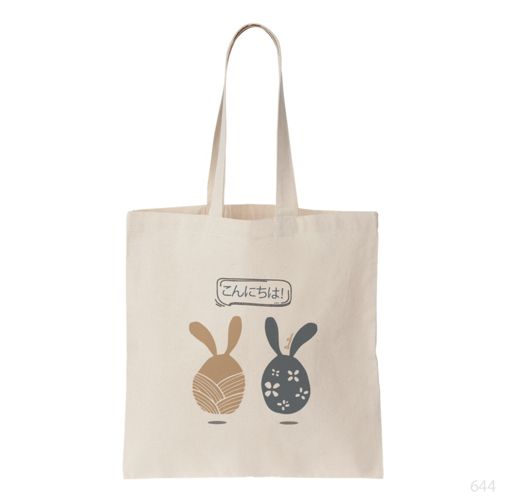 Rabbit Wonderland Tote Bag