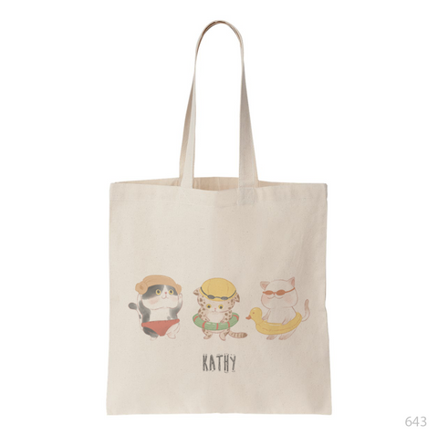 Santa Penguin Tote Bag
